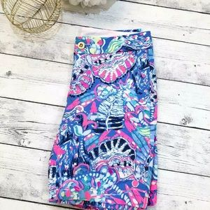 Lilly Pulitzer Chipper Short Fantasy Garden Print